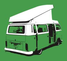 VW Camper Early Bay Open Roof Kids Clothes