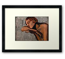 In No Small Measure Framed Print