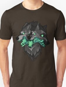 Weird Dog (Green) Unisex T-Shirt