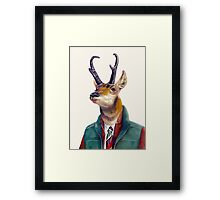 Pronghorn Deer Framed Print