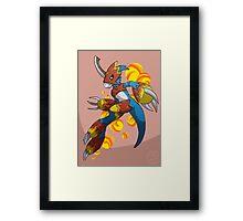 Flamedramon Framed Print