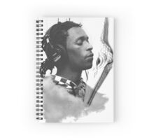 Young Thug and a Pteranodon Spiral Notebook