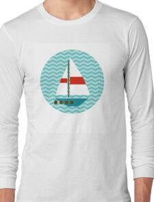 Boat Long Sleeve T-Shirt