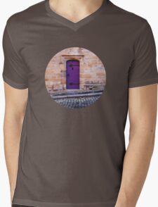 Purple Door Mens V-Neck T-Shirt