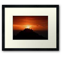 Gorey castle at sunrise Framed Print