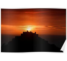 Gorey castle at sunrise Poster