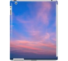 The Resolution of the Dream - The sky at the sunset. iPad Case/Skin