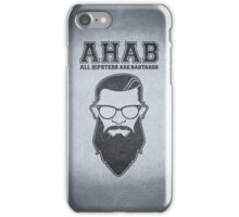 ALL HIPSTERS ARE BASTARDS - Funny (A.C.A.B) Parody  iPhone Case/Skin