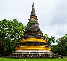 Ancient Pagoda in Thailand by thegaffphoto