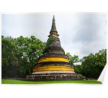 Ancient Pagoda in Thailand Poster