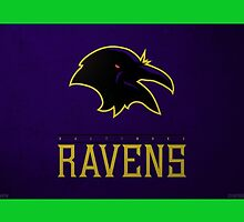 Baltimore ravens phone case  by Pachy12
