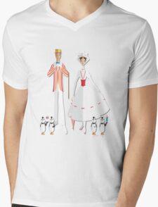 Holiday with Mary Mens V-Neck T-Shirt