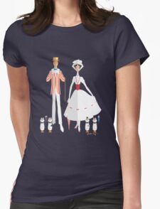 Holiday with Mary Womens Fitted T-Shirt