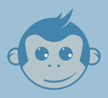 Blue Monkey Kids Tee