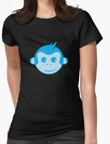 Blue Monkey Womens Fitted T-Shirt