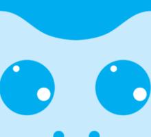 Blue Monkey Sticker