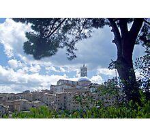View on Siena Photographic Print