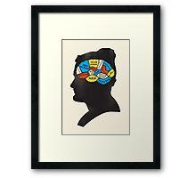 Zissou_Phrenology Framed Print