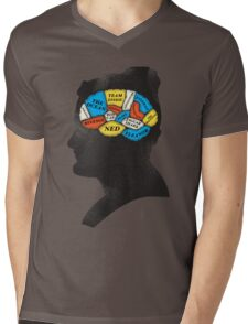 Zissou_Phrenology Mens V-Neck T-Shirt