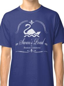 Swan's Pond - White Classic T-Shirt