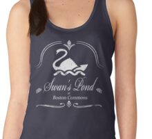 Swan's Pond - White Women's Tank Top