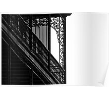 Wrought Iron Lace Poster