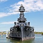 Battleship Texas by Robert Brown