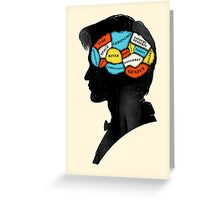 Doctor Phrenology Greeting Card