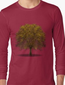 tree isolated over white Long Sleeve T-Shirt