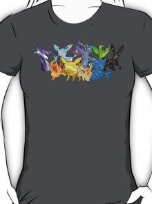 """The Dream Team"" - X & Y Eeveelutions T-Shirt"