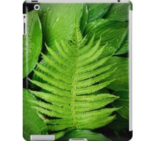 Fern on top iPad Case/Skin
