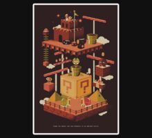 Super mario world art by nomnomnomdesigs