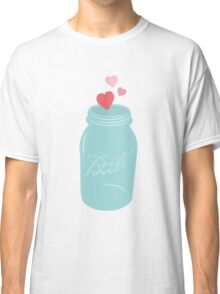 Lovely Mason Jar Classic T-Shirt