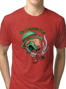 Happy St Pats Day Tri-blend T-Shirt