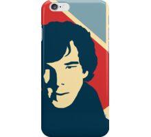 Sherlock Holmes Poster iPhone Case/Skin