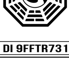 Dharma Sticker - LOST Sticker
