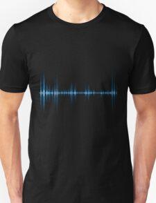 Blue wave of sound T-Shirt