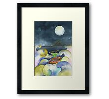 'And They Sailed Away For A Year And A Day' Framed Print