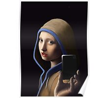 Girl without a pearl earring Poster