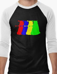 Exterminate The Colour Men's Baseball ¾ T-Shirt
