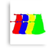 Exterminate The Colour Canvas Print