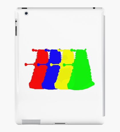 Exterminate The Colour iPad Case/Skin