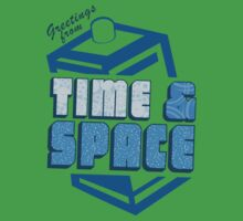 Greetings From Time & Space Kids Clothes