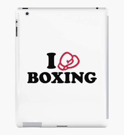I love boxing gloves iPad Case/Skin
