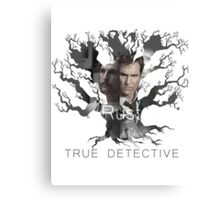Rust Cohle tree from True Detective, HBO Canvas Print