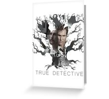 Rust Cohle tree from True Detective, HBO Greeting Card
