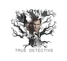 Rust Cohle tree from True Detective, HBO Photographic Print