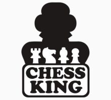 Chess king player Kids Clothes