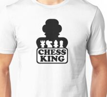 Chess king player Unisex T-Shirt