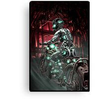 Cyberpunk Painting 010 Canvas Print